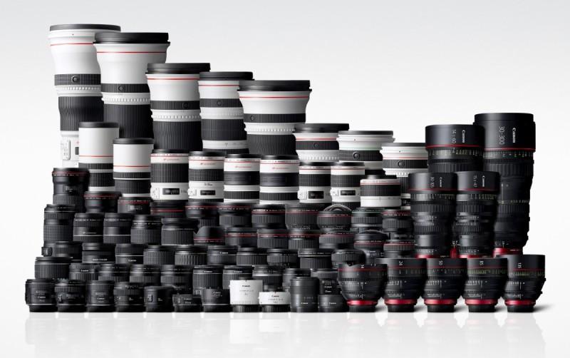 有傳聞指,Canon 全片幅無反或會支援 EF 接環鏡頭。