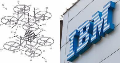 IBM 新專利曝光!無人機半空對接交收貨件 建構空中物流網路