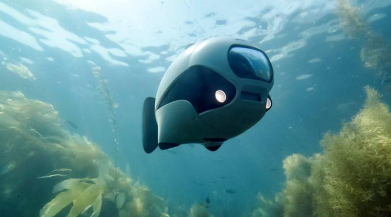 全球首台無線水中無人機誕生 BIKI Drone