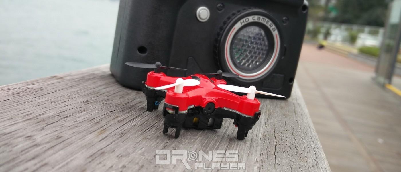 飛行器+遙控器合體變相機!奇趣迷你航拍機 DHD D2 玩味評測