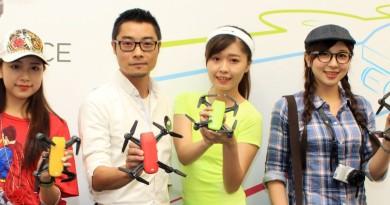 DJI Spark 無人機在台開賣!用手勢遙控飛行•可拍淺景深效果