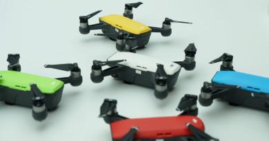 DJI Spark 韌體加強自動功能 手勢控制錄製影片