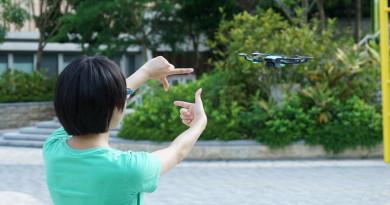 DJI Spark 手勢操作試玩:控制無人機空拍的最高境界是捨棄遙控器!