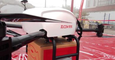 京東送貨無人機西安啟航 網購 JD.com 貨品翌日空運到你家