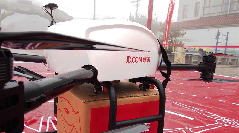 京東 JD.com - Y2 送貨無人機