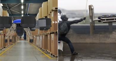 最強泛用型無人機 Neva Eole:不但可倉管送貨,還能執行防暴任務!