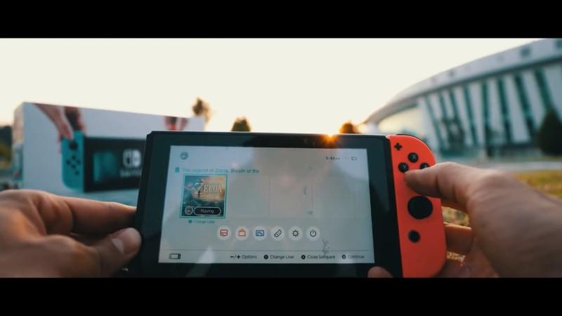 Nintendo Switch 1,000 呎墜落測試 - 結果