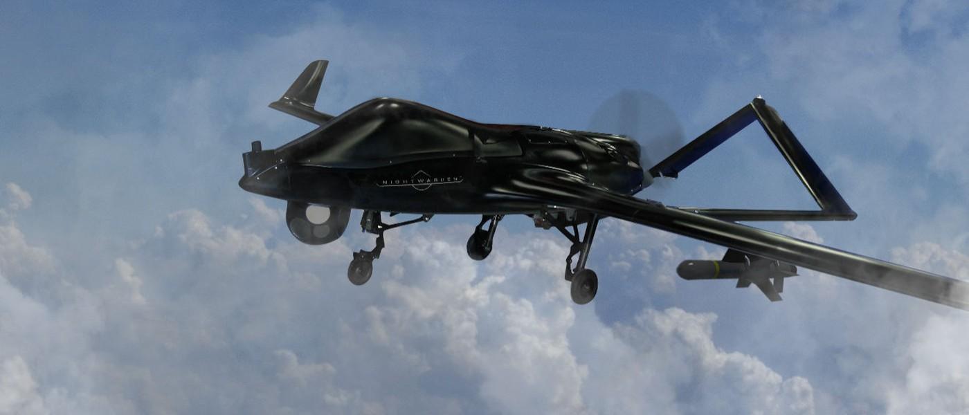 Textron Shadow M2 酷黑進化!Nightwarden 戰術無人機巴黎降世
