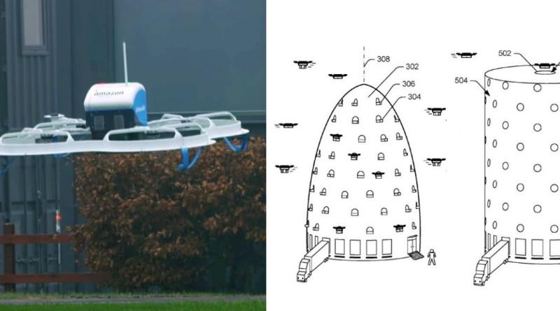亞馬遜擬在市中心建蜂巢式無人機物流塔