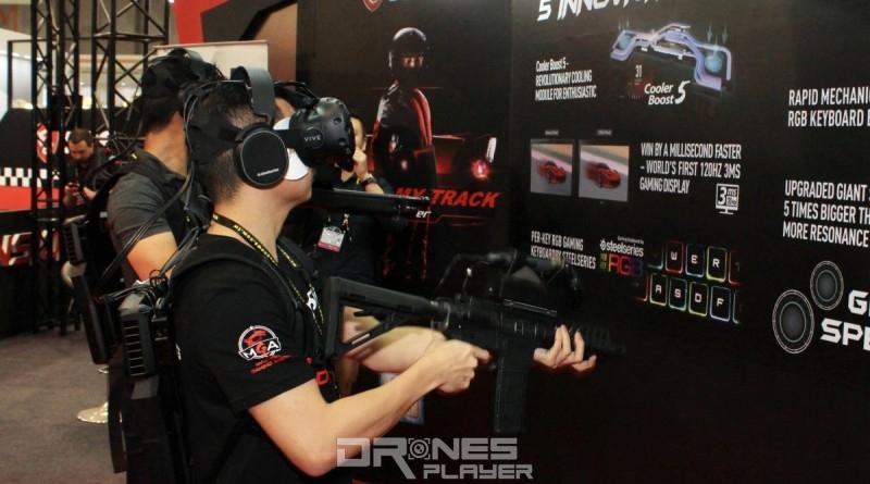 Computex 2017:VR 體感服裝與背包電腦強勢列陣