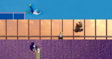 12 幅視野獨特的人文紀實作品獲獎,都是用無人機拍攝的