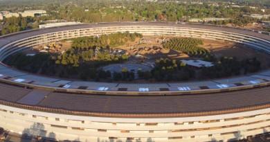 Apple Park 空拍影片流出不再?傳蘋果新總部禁飛無人機