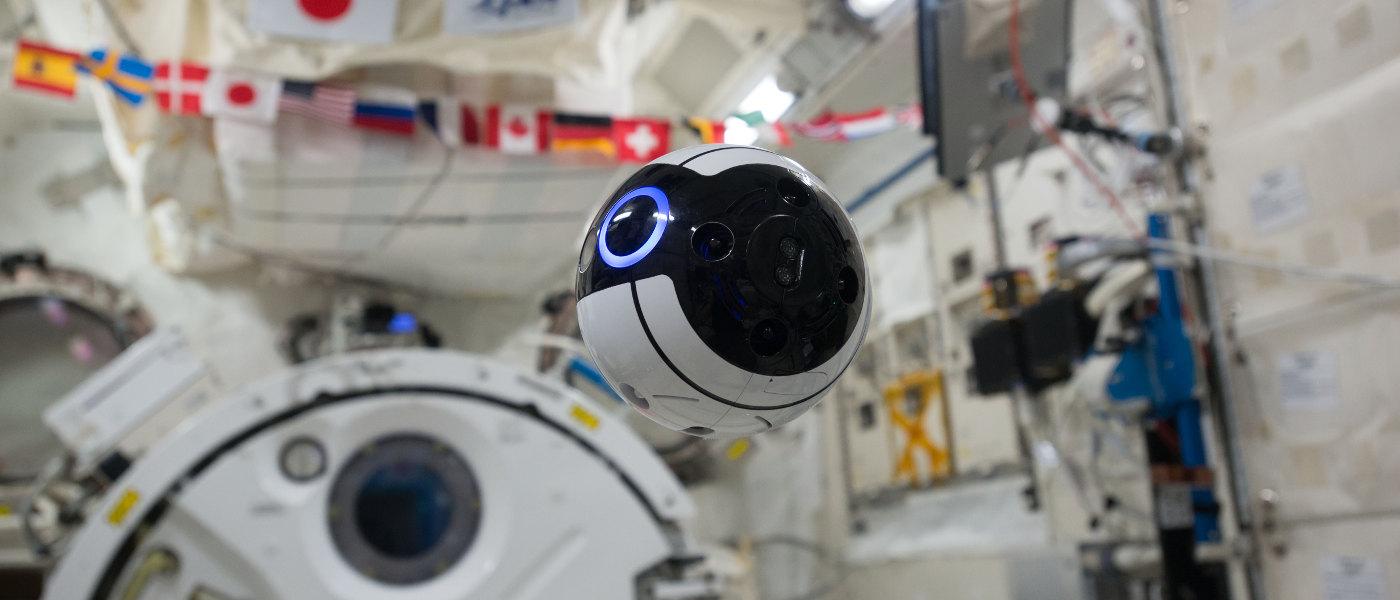 JAXA Int-Ball:跟太空人一起工作的球形空拍機