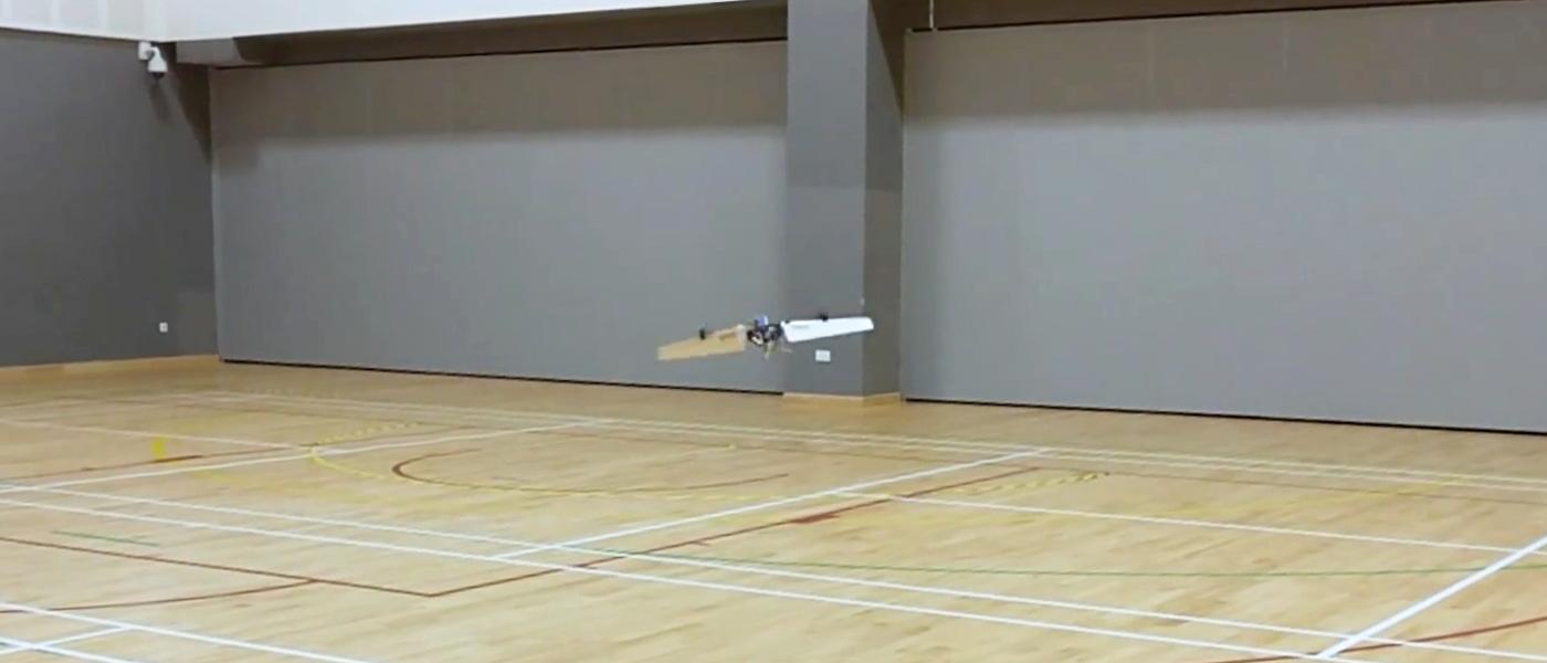 新加坡科技設計大學發明了 THOR,這是無人機、螺旋槳還是固定翼?