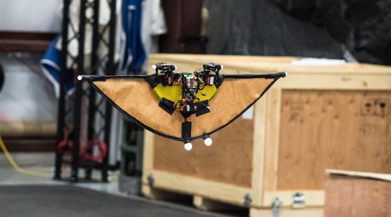美軍研究實驗室 Steve Nogar 博士 - 垂直升降、水平飛行無人機