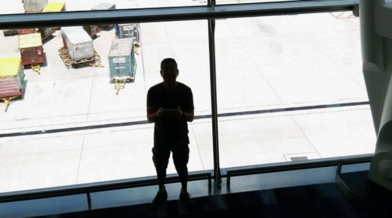 楊氏港男在香港國際機場中場客運廊候機室放飛 Zerotech Dobby 被捕