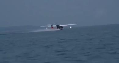 順豐斥 7.4 億建四川無人機基地 定翼機水上試飛影片流出
