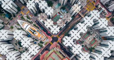港人航拍作品獲國際攝影比賽亞軍 作品靈感來自九龍城寨