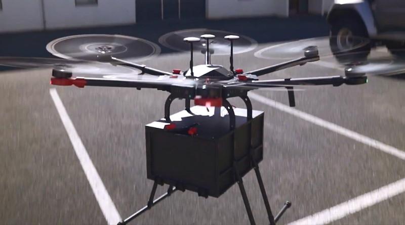 Flytrex Mule 送貨無人機