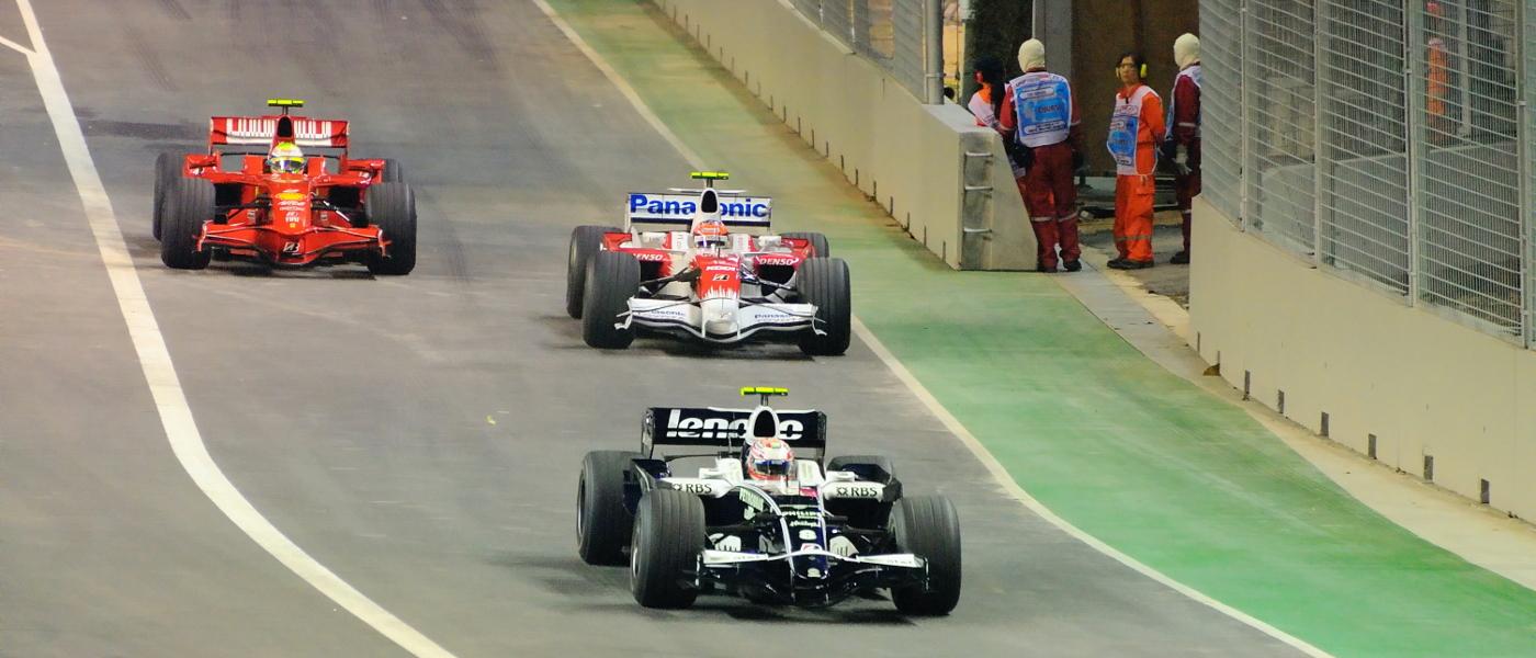 新加坡 F1 大賽期間頒令禁飛 旅遊景點亦不能幸免?