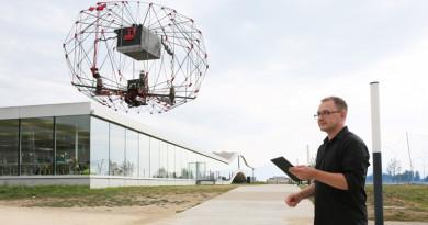 無人機全方位保護罩 折疊後體積直減 92%?