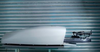 無人機智能換電站 助目視外飛得更遠