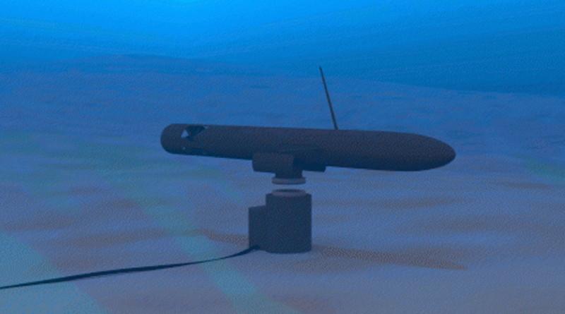 SPAWAR 水底無人機無線充電座