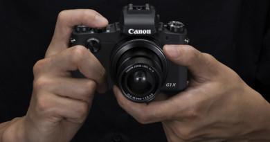 APS-C 等級隨身機! Canon PowerShot G1 X Mark III 登場