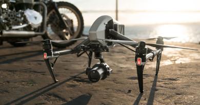DJI 超驚艷 6K 高清拍攝 全球首台 S35 影像傳感器雲台相機