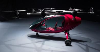 瑞士載客無人機領先杜拜 載人測試成功
