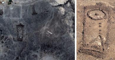 沙特阿拉伯沙漠存神秘石結構 澳洲考古學家航拍紀實