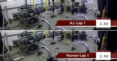人類.人工智能無人機大鬥法 誰的穿越技術更強?