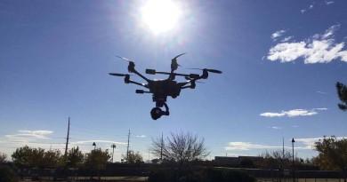 拉斯維加斯警察元旦部署無人機 嚴防槍擊慘劇再生