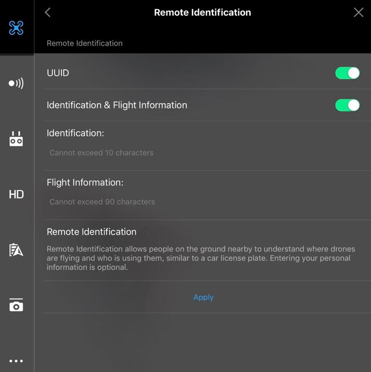 Remote Identification