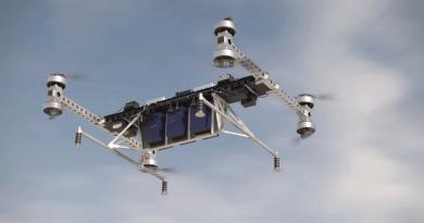 僅 3 個月研發 波音曝光工用無人機 可載貨 500 磅