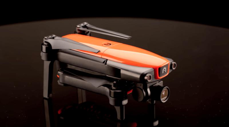 EVO 機身具有摺叠式設計,方便旅行攜帶。