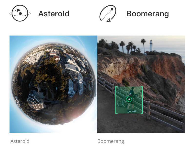 一鍵短片新增小行星、彗星模式。