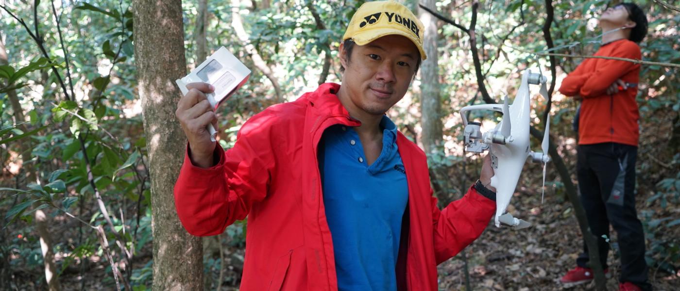 【周末人訪】攀岩爬樹無難度 越野達人:救航拍機如尋寶