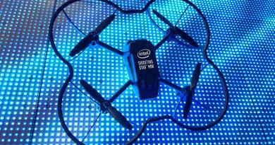 CES 2018焦點:100 無人機室內共舞 Intel 再創世界紀錄