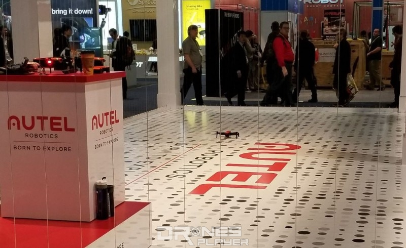 Autel Robotics 在今年 CES 推出 EVO 硬撼 DJI 的 Mavic Pro。
