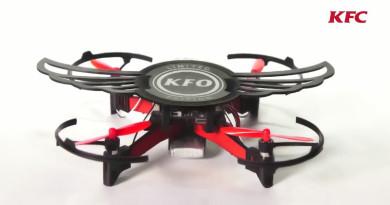 雞翅盒變身 DIY 無人機 肯德基宣傳手法玩很大!