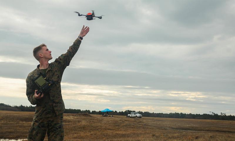 海軍陸戰隊在上年年初已為 InstantEye 的無人機進行實地測試。