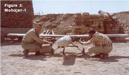 有報告指,伊朗軍方甚至在「候鳥」無人機身上製配火箭手榴彈。
