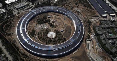 無人機墜落蘋果總部 失事前零預兆