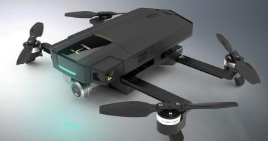GDU O2 登陸 InterDrone 2017 會場 連遙控也能收納的折疊空拍機