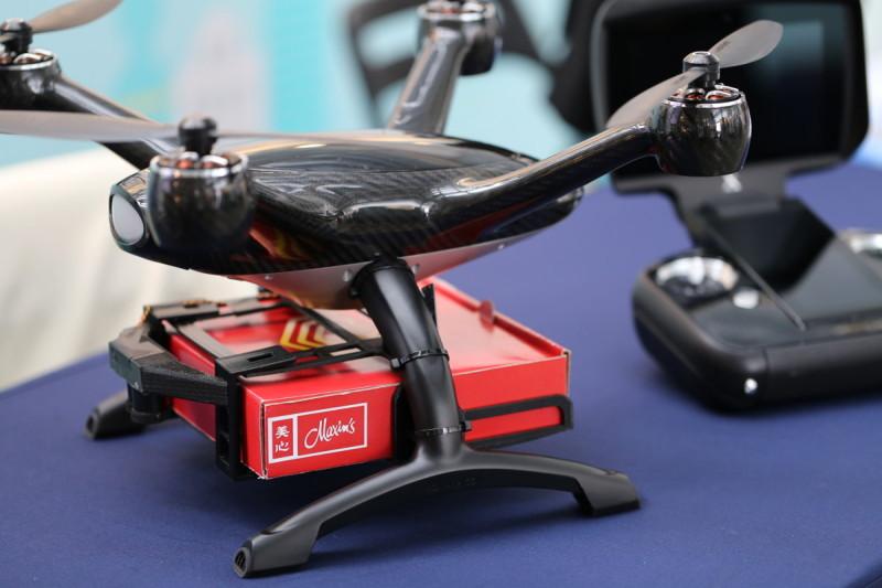 XDynamics Evolve 無人機的貨架